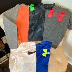 Boys Shirts lot of 5 medium , 8/10
